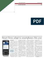Smart Firms Adapt to Smart Phones