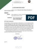 BASES DEL I CONCURSO VIRTUAL DE DECLAMACION POETICA EN LENGUA ORIGINARIA QUECHUA Y AIMARA