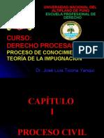 DERECHO PROCESAL CIVIL 2020-I