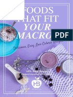 holly baxter,foods that fit your macros