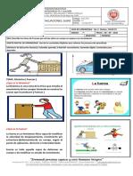 Guía de Trabajo Física Grado 7°  DINAMICA