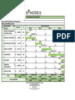 Planilha Orçamentária e Cronograma Físico-financeiro - TP 007-2020 - Rio Bananal - Cronograma