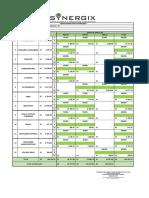 Planilha Orçamentária e Cronograma Físico-financeiro - TP 008-2020 - Rio Bananal - Cronograma