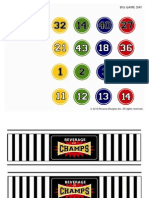Persona Printables - BIG GAME DAY