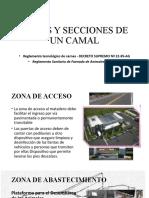 ZONAS Y SECCIONES DE UN CAMAL