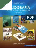 Bibliografía afrodomínico-haitiana 1763-2015