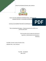 093 Plan de Marketing Estratégico y Posicionamiento de La Upec en La Provincia Del Carchi - Paredes Terán, Jennifer