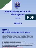 TEMA 2 formulacion y evaluacion