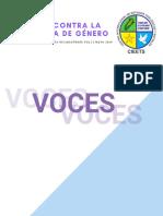 Revista Digital de Teología Nicaragüense :Voces Contra La Violencia de Género