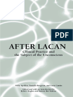 Apollon Willy - After Lacan-clinical practice and the subject of the unconscious .pdf