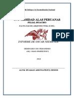 Informe - Seminario Urbanismo