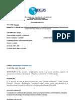 Enfoque Interdisicplinario de la Realidad Educ. Panameña 2020