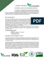 FICHA TECNICA DESINFECTANTE CLEAN DFX