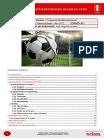 4 Curso Metodologias aplicadas al Fútbol Modelo Disertante