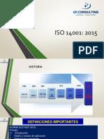 Diapositivas Sesión 1 y 2 - Sistema de Gestión Ambiental ISO 14001.2015