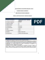 DE901 CONSTITUCION Y DDHH