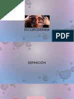Esclerodermia - reumatologia