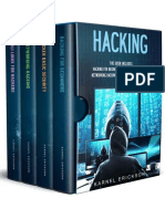 Hacking 4 Books in 1- Hacking for Beginners by Erickson Karnel