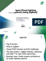 Intelligent Street lighting - Zigbee Digi intrnal