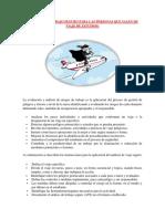 ANÁLISIS DE TRABAJO SEGURO PARA LAS PERSONAS QUE SALEN DE VIAJE DE ESTUDIOS 1