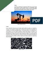 Combustibles fósiles de energía