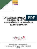 La Electrodinámica Quiral Eslabón de La Física-biogenética
