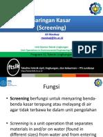 2. Screening