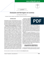 Fibrinogeno clínica