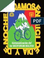 Libro Sistematización 1er BICIFORUM BOLIVIA.pdf