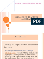 ORGANES DE TRACTION