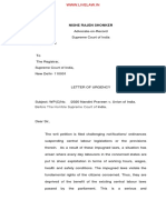 Labour Without Welfare Measures Constitutes 'Forced Labour' Under Article 23 Of Constitution  Plea In SC Against Dilution Of Labour Laws pdf_upload-375085.pdf