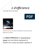 Salaire d'efficience — Wikipédia