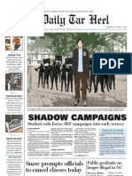 The Daily Tar Heel for January 11, 2010
