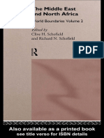 C. Schofield - Middle East and North Africa_ World Boundaries (World Boundaries, Vol 2) (1994) (1)