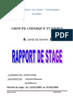 rapport de stage electrique fatma