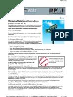 ManagingStakeholderExpectations