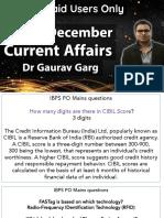 1 December CA English