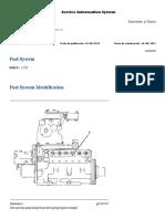 CAT 3412 Fuel System Identification