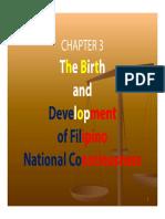 RIZAL_CHAP 03_Development of Filipino National Consciousness