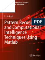 pattern recognition and AI using matlab Textbook.pdf