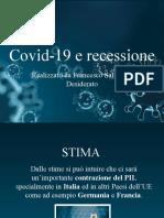 Covid-19 e recessione