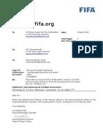 Decizie FIFA Hermannstadt