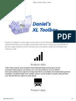 Daniel's XL Toolbox - Daniel's XL Toolbox