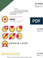 Encuentro Investigación - Bienvenidos a Cultura Crea 2020