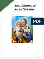 rosario y Novena al Glorioso Patriarca San Jose 2019
