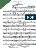 Primeval light  Mahler  trbn pf