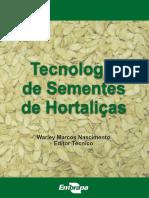 TECNOLOGIA DE PRODUÇÃO DE SEMENTES DE HORTALIÇAS