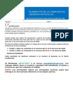 5) TALLER DE ARTES 10°GRADO.