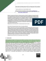 Características del profesorado de Educación Física en Educación Secundaria