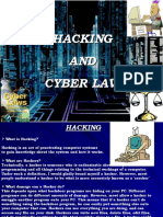HACKING AND CYBER LAW